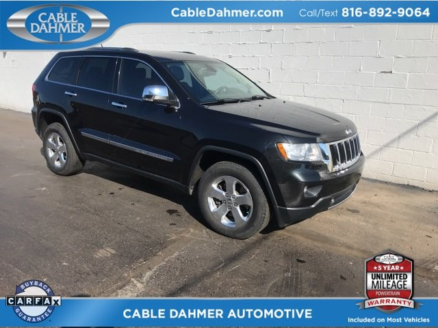 2012 Maximum Steel Metallic Clearcoat Jeep Grand Cherokee Limited 4 Door SUV 5.7L V8 Multi Displacement VVT Engine 4X4 Automatic
