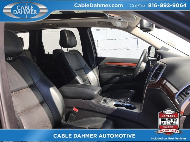 2012 Jeep Grand Cherokee Limited 4X4 4 Door 5.7L V8 Multi Displacement VVT Engine SUV Automatic
