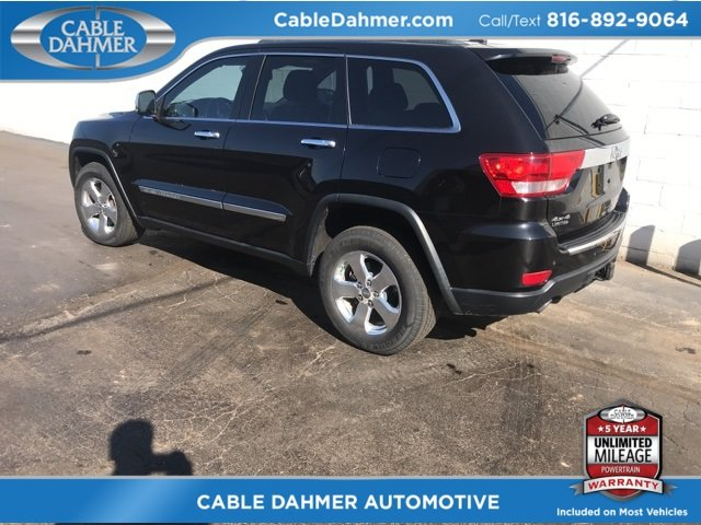 2012 Jeep Grand Cherokee Limited 4X4 SUV 5.7L V8 Multi Displacement VVT Engine Automatic