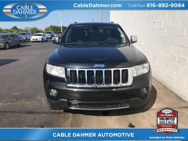 2012 Jeep Grand Cherokee Limited 4X4 SUV Automatic 4 Door