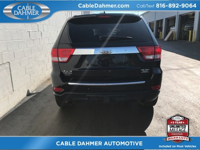 2012 Jeep Grand Cherokee Limited Automatic 4 Door 5.7L V8 Multi Displacement VVT Engine 4X4