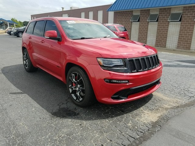 2014 Jeep Grand Cherokee SRT8 Automatic 4 Door 4X4 SUV SRT HEMI 6.4L V8 MDS Engine