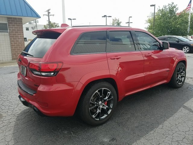 2014 Jeep Grand Cherokee SRT8 4 Door Automatic SRT HEMI 6.4L V8 MDS Engine SUV