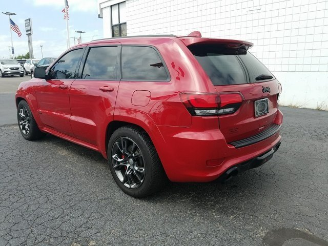 2014 Red Jeep Grand Cherokee SRT8 4 Door SRT HEMI 6.4L V8 MDS Engine Automatic