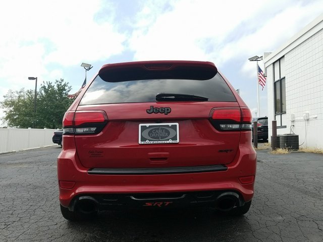 2014 Red Jeep Grand Cherokee SRT8 Automatic 4 Door SUV SRT HEMI 6.4L V8 MDS Engine 4X4