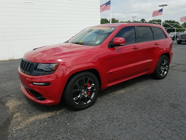 2014 Red Jeep Grand Cherokee SRT8 4X4 4 Door Automatic