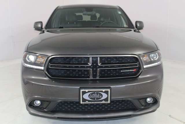 2014 Granite Crystal Metallic Clearcoat Dodge Durango R/T 4 Door SUV HEMI 5.7L V8 Multi Displacement VVT Engine AWD Automatic