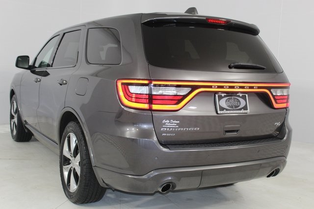 2014 Dodge Durango R/T AWD Automatic 4 Door HEMI 5.7L V8 Multi Displacement VVT Engine SUV