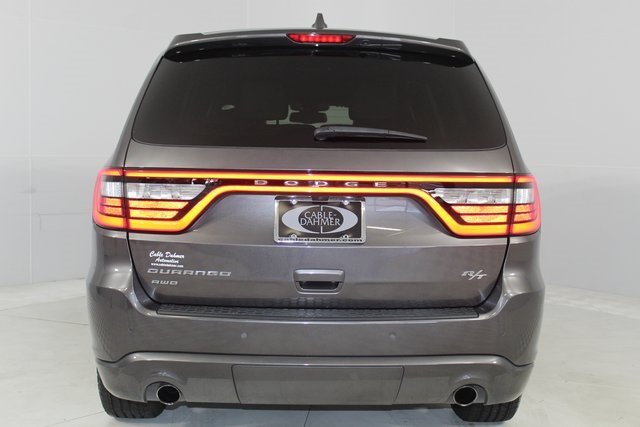 2014 Granite Crystal Metallic Clearcoat Dodge Durango R/T HEMI 5.7L V8 Multi Displacement VVT Engine AWD 4 Door SUV