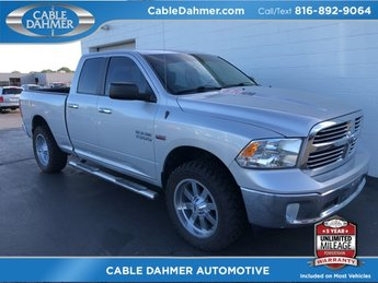 2014 Bright Silver Metallic Clearcoat Ram 1500 Big Horn HEMI 5.7L V8 Multi Displacement VVT Engine 4X4 4 Door Truck Automatic
