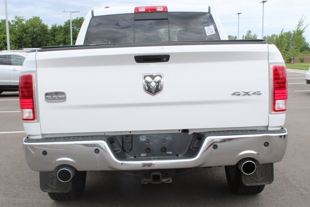 2013 Bright White Clearcoat Ram 1500 Laramie Longhorn Edition 4X4 4 Door HEMI 5.7L V8 Multi Displacement VVT Engine