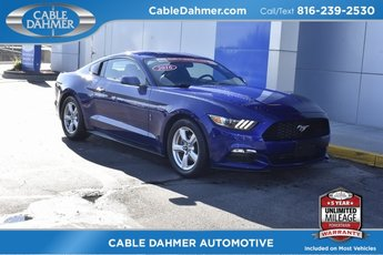 2016 Ford Mustang V6 3.7L V6 Ti-VCT 24V Engine Automatic 2 Door RWD