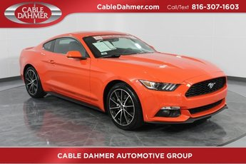 2016 Competition Orange Ford Mustang EcoBoost Automatic 2 Door Coupe RWD