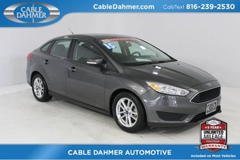 2015 Magnetic Ford Focus SE 4 Door FWD 2.0L 4-Cylinder DGI DOHC Engine Automatic Sedan