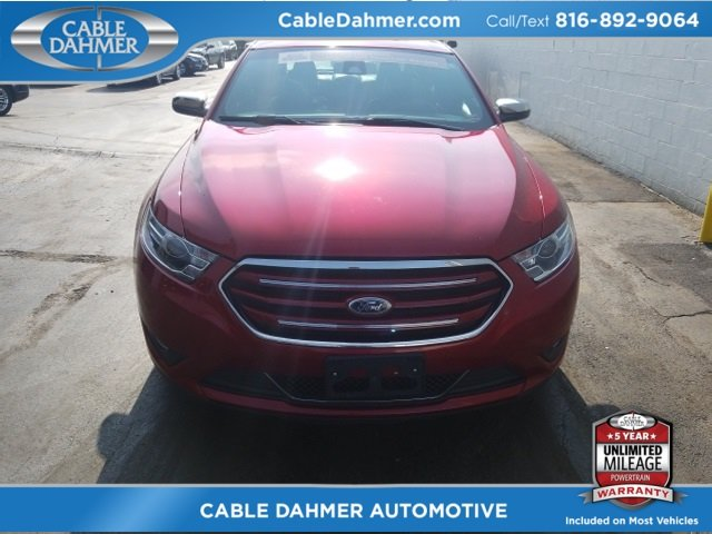 2017 Ruby Red Metallic Tinted Clearcoat Ford Taurus Limited Sedan FWD Automatic 3.5L 6-Cylinder SMPI DOHC Engine 4 Door