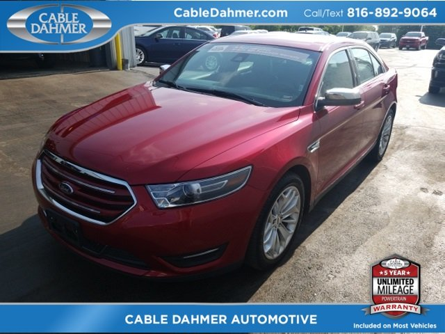 2017 Ruby Red Metallic Tinted Clearcoat Ford Taurus Limited FWD Sedan 4 Door