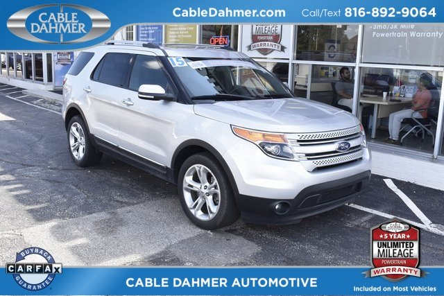 2015 Ford Explorer Limited 4 Door SUV 4X4 3.5L 6-Cylinder SMPI DOHC Engine