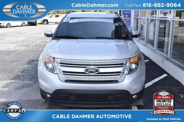 2015 Ingot Silver Metallic Ford Explorer Limited SUV 3.5L 6-Cylinder SMPI DOHC Engine 4 Door 4X4 Automatic
