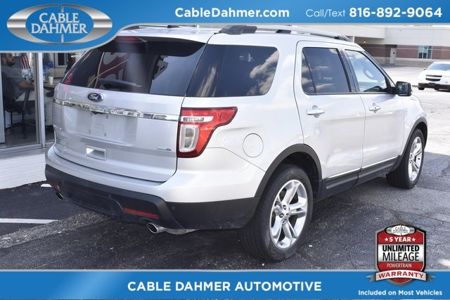 2015 Ford Explorer Limited 3.5L 6-Cylinder SMPI DOHC Engine 4X4 4 Door SUV Automatic