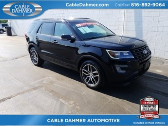 2017 Ford Explorer Sport EcoBoost 3.5L V6 GTDi DOHC 24V Twin Turbocharged Engine Automatic 4X4 SUV