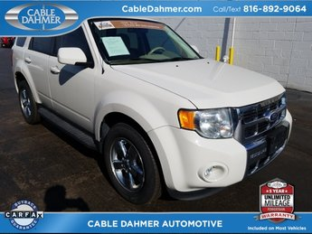 2011 white Ford Escape Limited Automatic 4X4 4 Door Duratec 3.0L V6 Flex Fuel Engine SUV