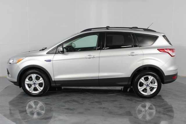 2014 Silver Metallic Ford Escape SE 4X4 Automatic 4 Door EcoBoost 1.6L I4 GTDi DOHC Turbocharged VCT Engine