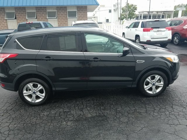 2015 Tuxedo Black Ford Escape SE Automatic EcoBoost 1.6L I4 GTDi DOHC Turbocharged VCT Engine 4 Door SUV 4X4