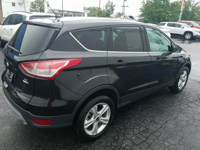 2015 Tuxedo Black Ford Escape SE EcoBoost 1.6L I4 GTDi DOHC Turbocharged VCT Engine Automatic SUV