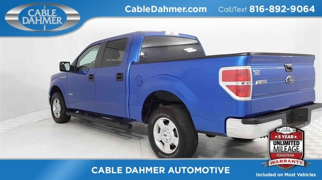 2014 Blue Ford F-150 XLT 4 Door Automatic RWD