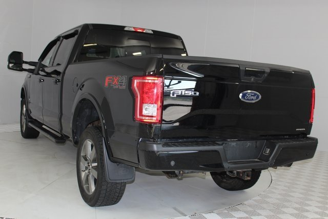 2016 Shadow Black Ford F-150 XLT 4 Door 5.0L V8 FFV Engine Truck Automatic