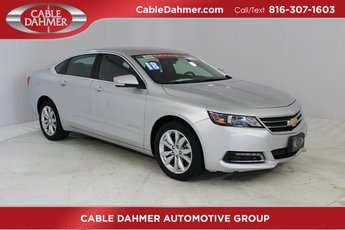 2018 Silver Ice Metallic Chevrolet Impala LT ECOTEC 2.5L I4 DGI DOHC Engine 4 Door Automatic