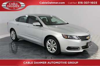 2018 Silver Ice Metallic Chevrolet Impala LT Sedan FWD ECOTEC 2.5L I4 DGI DOHC Engine Automatic 4 Door
