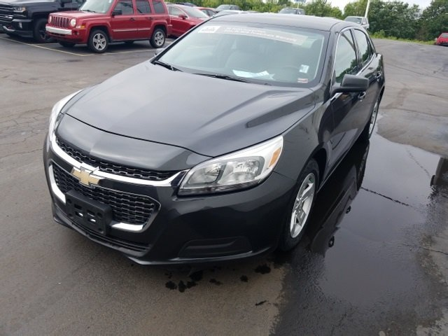 2015 Ashen Gray Metallic Chevy Malibu LS FWD 4 Door Automatic