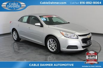 2015 Silver Chevy Malibu LT 4 Door ECOTEC 2.5L I4 DGI DOHC VVT Engine Automatic Sedan FWD