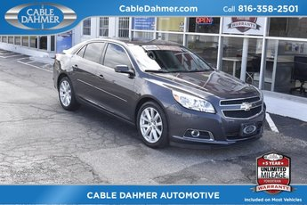 2013 Black Chevy Malibu LT 2.5L 4-Cylinder DGI DOHC VVT Engine Automatic Sedan FWD