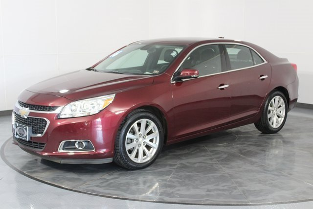 2016 Red Chevy Malibu Limited LTZ Sedan FWD 2.5L 4-Cylinder DGI DOHC VVT Engine 4 Door Automatic
