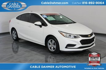 2016 Chevy Cruze LS 1.4L 4-Cylinder Turbo DOHC CVVT Engine Sedan FWD