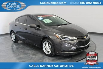 2016 Chevy Cruze LT 1.4L 4-Cylinder Turbo DOHC CVVT Engine Sedan 4 Door Automatic