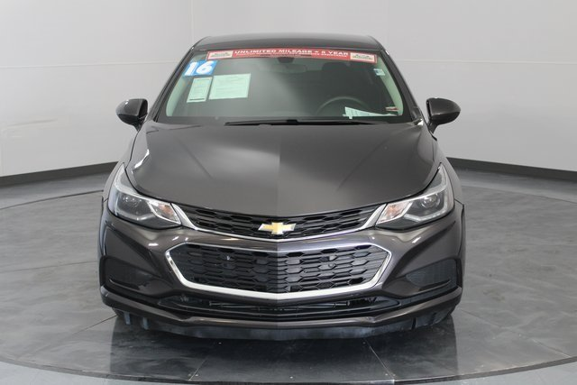 2016 Chevy Cruze LT Automatic Sedan 4 Door 1.4L 4-Cylinder Turbo DOHC CVVT Engine