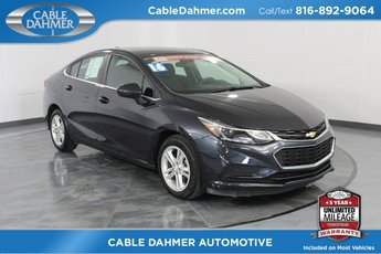 2016 Chevy Cruze LT Sedan FWD 4 Door Automatic 1.4L 4-Cylinder Turbo DOHC CVVT Engine
