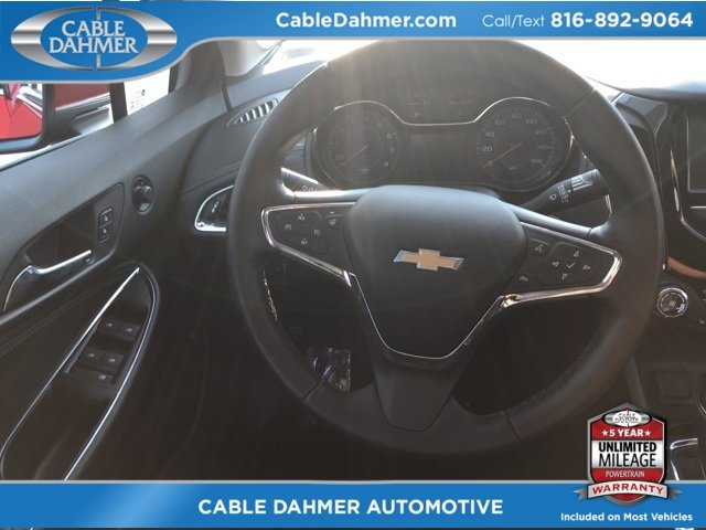 2017 Chevy Cruze Premier Sedan 1.4L 4-Cylinder Turbo DOHC CVVT Engine Automatic 4 Door FWD