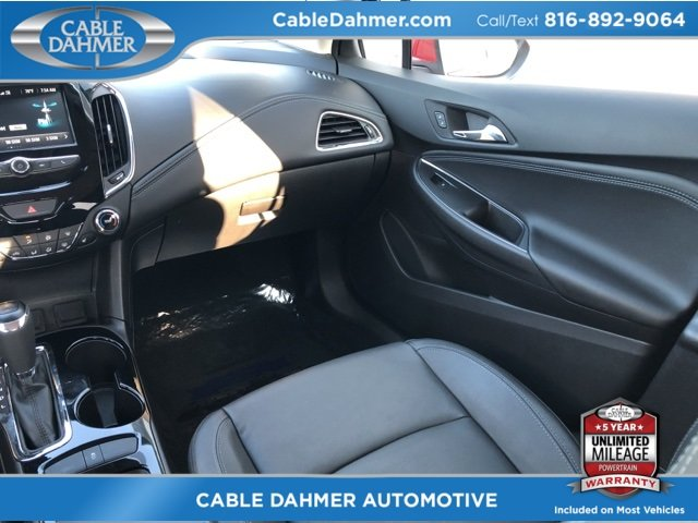 2017 Chevy Cruze Premier FWD Automatic 1.4L 4-Cylinder Turbo DOHC CVVT Engine 4 Door
