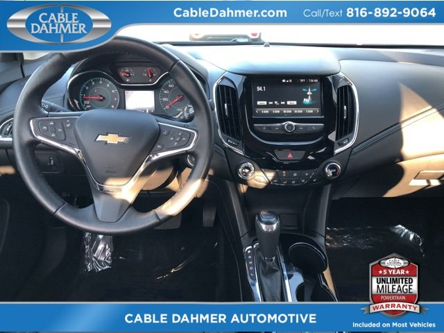 2017 Red Chevy Cruze Premier 1.4L 4-Cylinder Turbo DOHC CVVT Engine Automatic 4 Door FWD Sedan