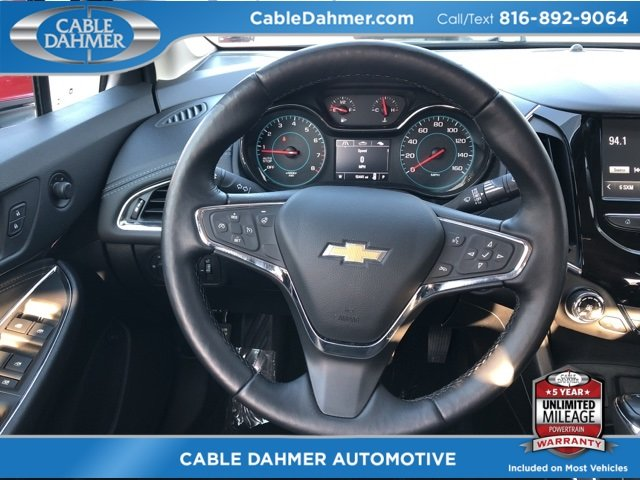 2017 Chevy Cruze Premier Automatic FWD 4 Door Sedan