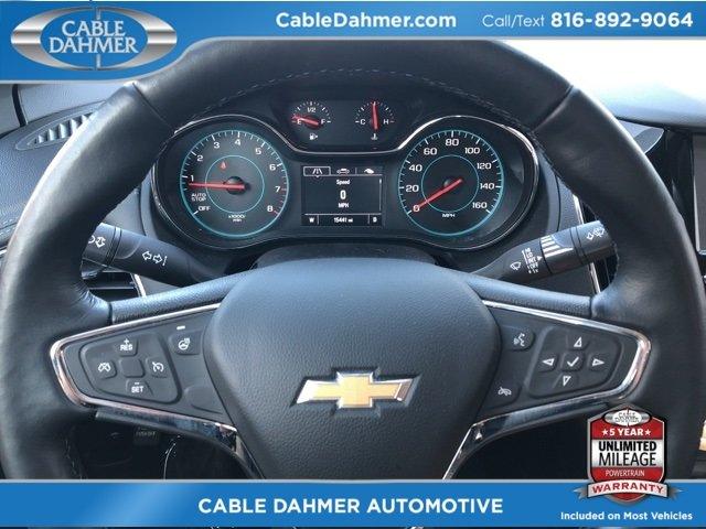 2017 Chevy Cruze Premier 1.4L 4-Cylinder Turbo DOHC CVVT Engine 4 Door FWD