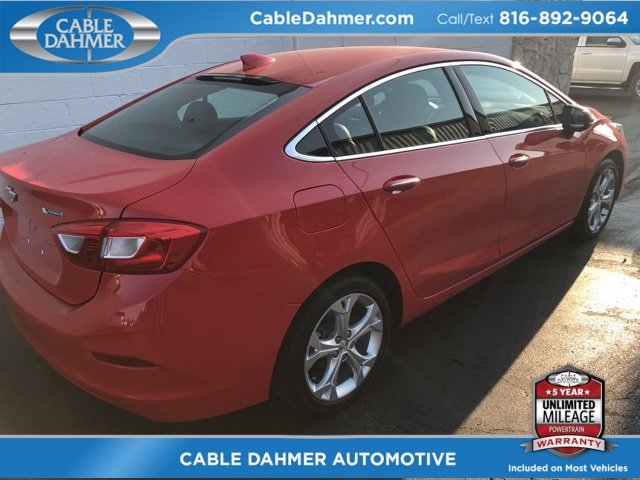 2017 Red Chevy Cruze Premier Automatic FWD 4 Door