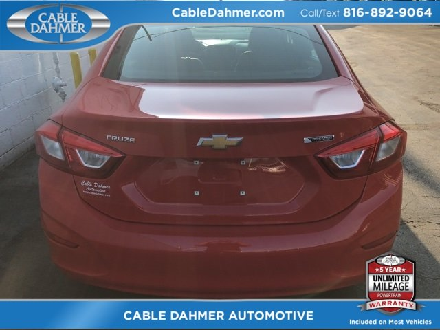 2017 Red Chevy Cruze Premier FWD Automatic 4 Door Sedan