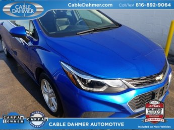 2017 Blue Chevy Cruze LT FWD 1.6L DOHC DIESEL Engine 4 Door Sedan