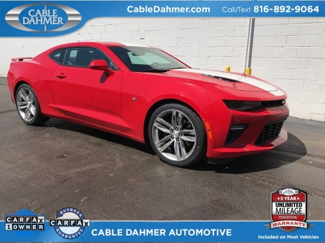 2016 Red Hot Chevy Camaro SS Coupe Automatic RWD 2 Door 6.2L V8 Engine