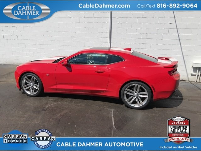 2016 Red Hot Chevy Camaro SS Coupe 2 Door RWD Automatic